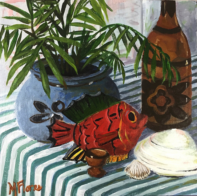 Still Life with Red Fish 12