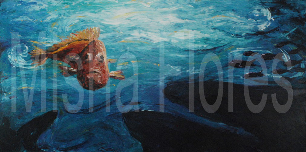 Cichlid Waterscape